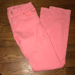 Lilly Pulitzer pink Worth Straight Jean size 4